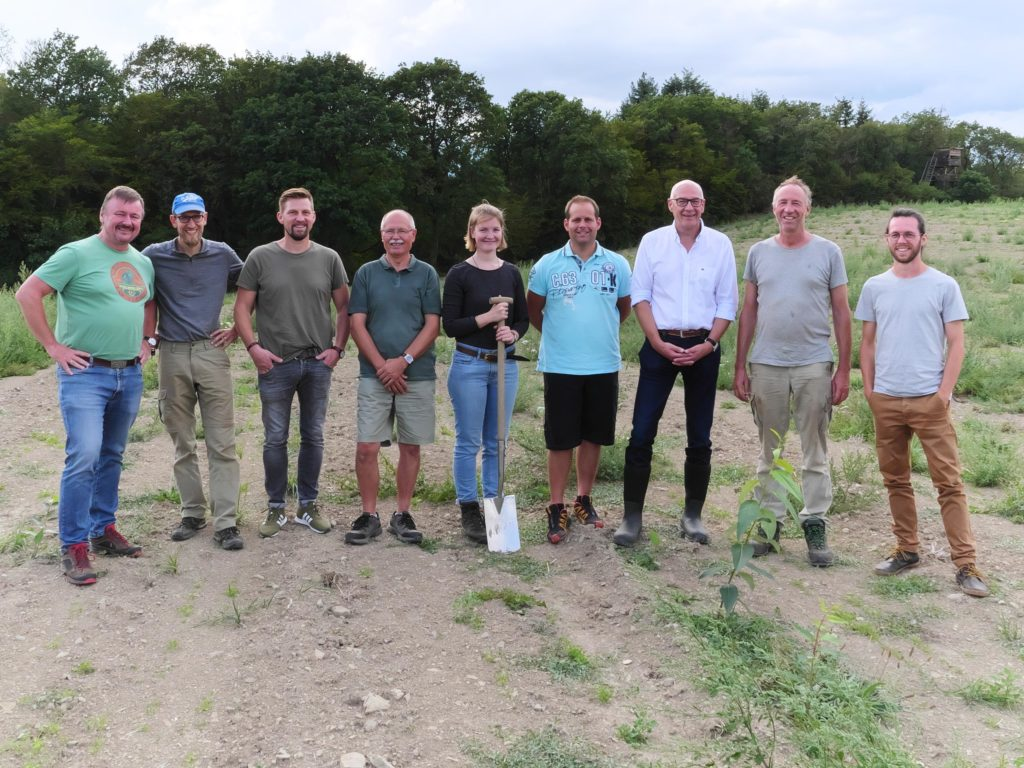 OG MUNTER zu Gast auf dem landwirtschaftlichen Partnerbetrieb Bannmühle